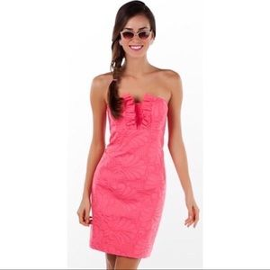 Lilly Pulitzer Frankie Dress in Pink Salmon